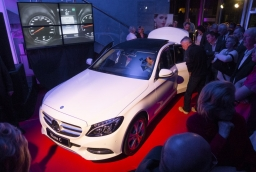 Prezentacja modeli C i GLA w salonie Mojsiuk Mercedes-Benz  /fot.: mab /